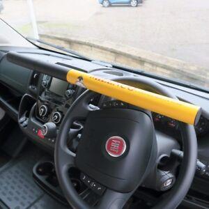 Milenco-Commercial-Motorhome-Van-High-Security-Steering-Wheel-Lock-0512-Yellow