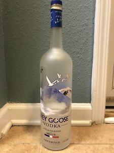 Grey Goose Vodka 1 75 Litros Frasco De Vidrio Grandes Botella Vacía Ebay