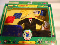 Madeline Magician Outfit 8 Inch Doll Magic Wand Hat Trunk Scarves Rabbit Eden