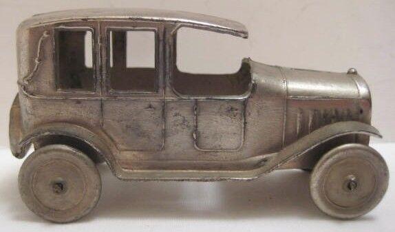 Juguete Antiguo Metal 1930s Sedan Sedan Sedan 2 5 8  - hecho En Francia da14a4