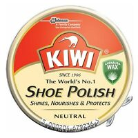 Kiwi Shoe Polish, Neutral 1.125 Oz (pack Of 2) on sale