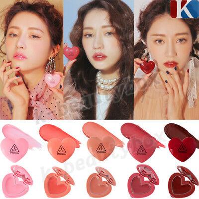 3CE Heart Pot Lip Tint Balm 5 Colors Lovely Moisturizing Lip Balm Lip Stain