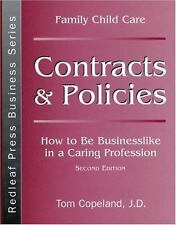 Family Child Care Contracts and Policies: How to Be Businesslike in a-ExLibrary