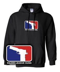 MAJOR-LEAGUE-GUNS-Pistole-1911-Beretta-Game-Gun-Waffe-Gangster-yolo-nerd-Hoodie