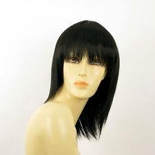 Perruque femme mi longue brun foncé FANIE 2