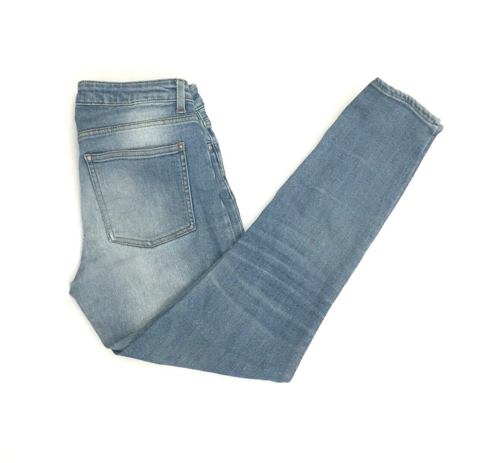 Acne Studios Skin 5 Lt USD blue Womens bluee Jeans Sz 29x32. Fits 28x27