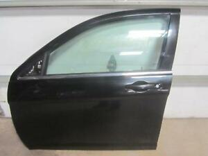 11-14-CHRYSLER-200-Left-Driver-Drivers-Front-Door-Sedan-Black-Glass-Handle-OEM