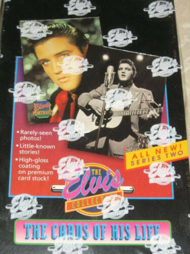 1992 River Group Elvis Collection Series 2 Trading Card Box,432 Cards! Unopened
