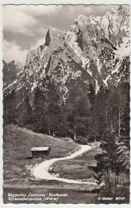 100509-Foto-AK-Weg-Lautersee-Ferchensee-Karwendelspitzen-nach-1945
