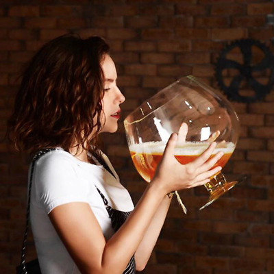 4000ml Huge Party Wine Glass Brandy Snifter Bowl Beer Home ...