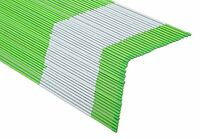 50x Driveway Markers Snow Stakes 1/4inchx 4ft Long Green Reflective Markers