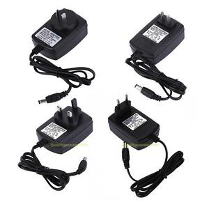 5V 2A AC//DC 2.1mm US Plug Power Supply Adapter Converter Tablet Charger PC Black