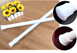 Extendable-Spring-Telescopic-Voile-Tension-shower-Curtain-Rod-Rail-Loaded-Pole