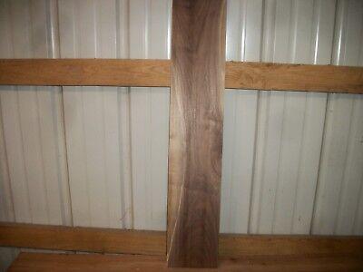 """1pc Walnut Lumber Wood Kiln Dried Board 34 3/16""""x 6 7/16""""x 13/16"""" Lot 743z Clear Haren Voorkomen Tegen Grijzing En Nuttig Om Teint Te Behouden"""