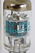 "NOS PHILIPS BLUE ECG JAN 6U8-A ECF82 AMPLITREX ""CREAM OF THE CROP"" SINGLE TUBES"