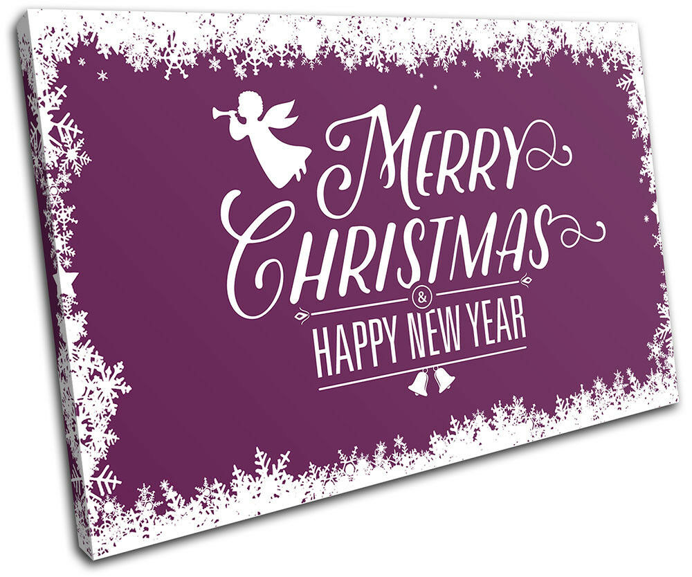 Christmas Decoration Wall Gift Canvas ART Print XMAS Picture Gift Wall  09 Violet Christma d024c5