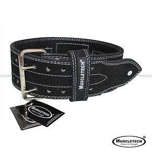 Genuine-Leather-Gym-Belt-Power-Belt-Heavy-Duty-Weight-Lifting-Bodybuildying-Belt
