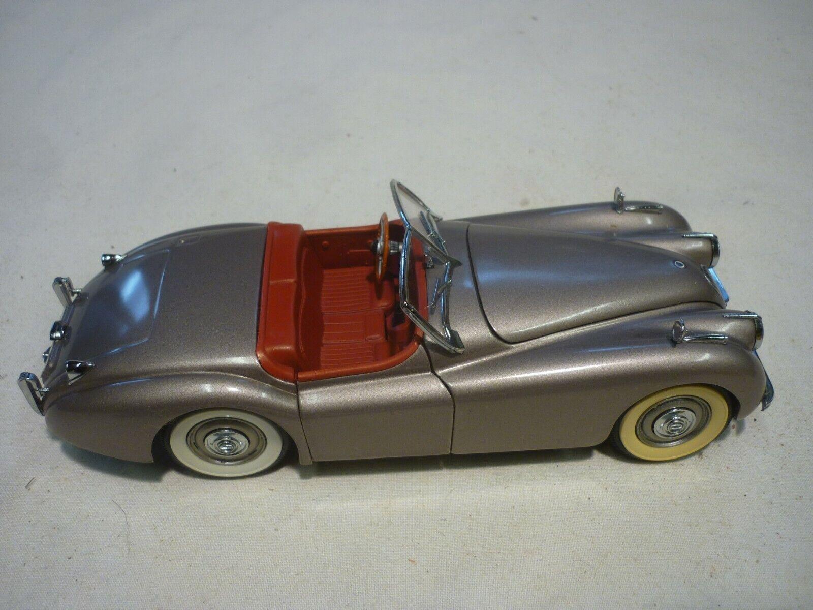 Un modello Danbury Nuovo di zecca scala di un 1949 JAGUAR XK120. senza scatola