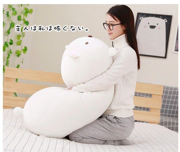 San-X Corner Pillow Japanese Animation Sumikko Gurashi Giant Stuffed Plush Q8H2