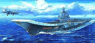 Russian Navy Kuznetsov 1 700 Plastic Model Kit TRUMPETER