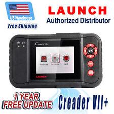 Free Updates Launch Creader VII+ OBD2 diagnostic Scan tool ABS SRS Transmission