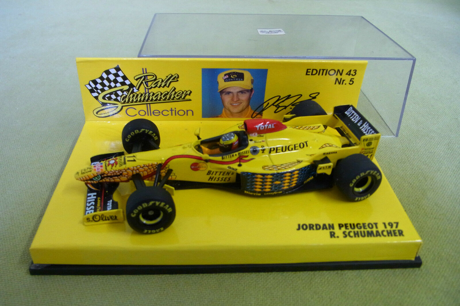 Minichamps - Jordan Peugeot 197 - R. Schumacher - Edition 43 Nr. 5