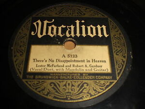 Lester-McFarland-and-Robert-A-Gardner-There-039-s-No-78-Vocalion-5123