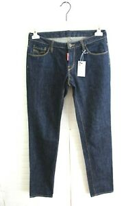 Jeans-DSQUARED2-Donna-Pantalone-DSQUARED-Pants-Woman-Taglia-Size-40