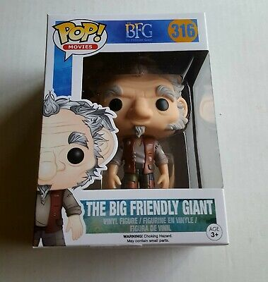 """New Pop Movies The Big Friendly Giant 3.75/"""" Funko Vinyl COLLECTIBLE The BFG"""