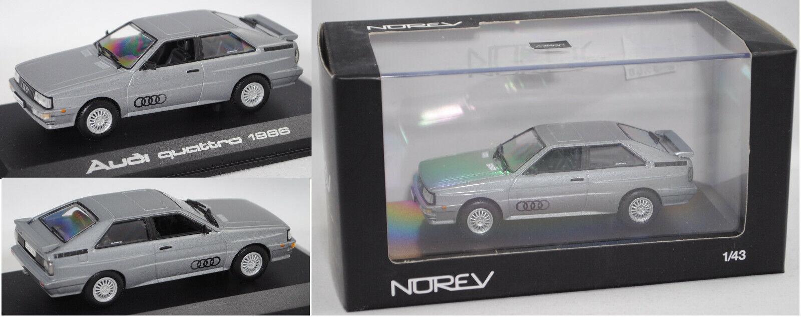 perfecto Norev 830031 Audi Quattro platagrismetalic platagrismetalic platagrismetalic 1 43  Ven a elegir tu propio estilo deportivo.