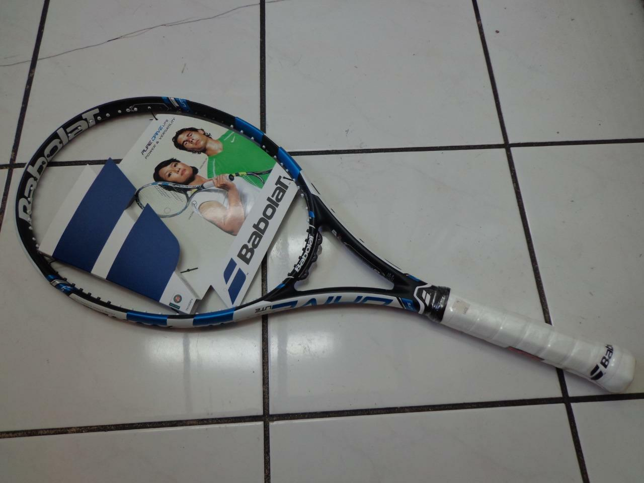 NEW 2015 Babolat Pure Drive LITE 100 head 4 1/2 grip Tennis Racquet
