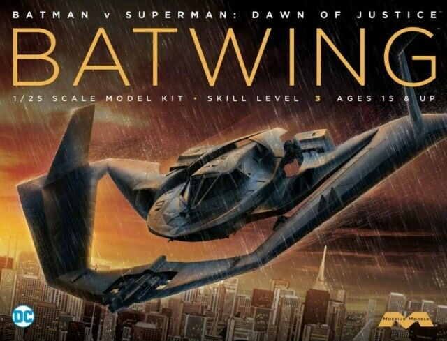Moebius 1 25 Batwing from Batman V Superman Dawn Of Justice