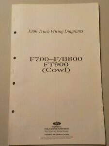 [DIAGRAM_38ZD]  1996 Ford F700 F800 B800 FT900 Cowl Truck Schematic Wiring Diagram Manual |  eBay | 1996 Ford F800 Wiring Diagram |  | eBay
