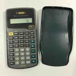 Texas-Instruments-TI-30Xa-Scientific-Calculator-Tested-And-Works