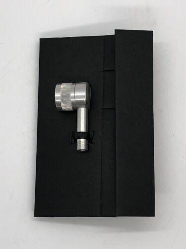 LIGHTWEIGHT Germany Disc Wheel Valve Pump Adapter Silver Aluminum Alloy