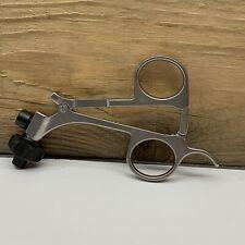 Clickline Metal Laparoscopic Handle With Hemostat Ratchet 33133 Karl Storz