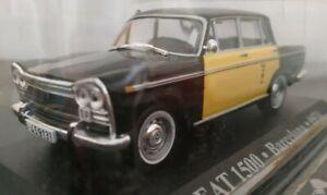 1-43-SEAT-1500-TAXI-BARCELONA-1970-COCHE-DE-MWTAL-A-ESCALA