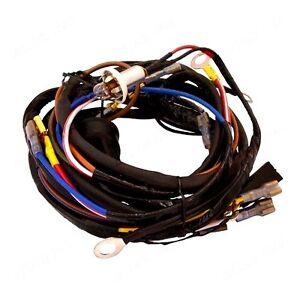 DYNAMO TO ALTERNATOR WIRING HARNESS FITS MEY FERGUSON 135 ... on allis chalmers b wiring harness, ford 3000 wiring harness, mf 383 wiring harness, fordson dexta wiring harness, massey ferguson wiring harness,