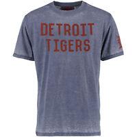 Men's Red Jacket Detroit Tigers Hoist Graphic T-shirt Medium Or Small