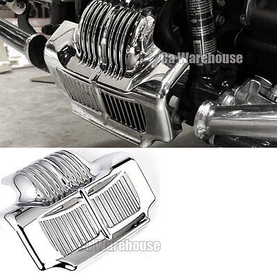 Motorcycle Oil Cooler Cover Case with Bracket for Harley Touring Freewheeler Road King Road//Street Glide FLHR FLHX FLRT 2017 2018,Black