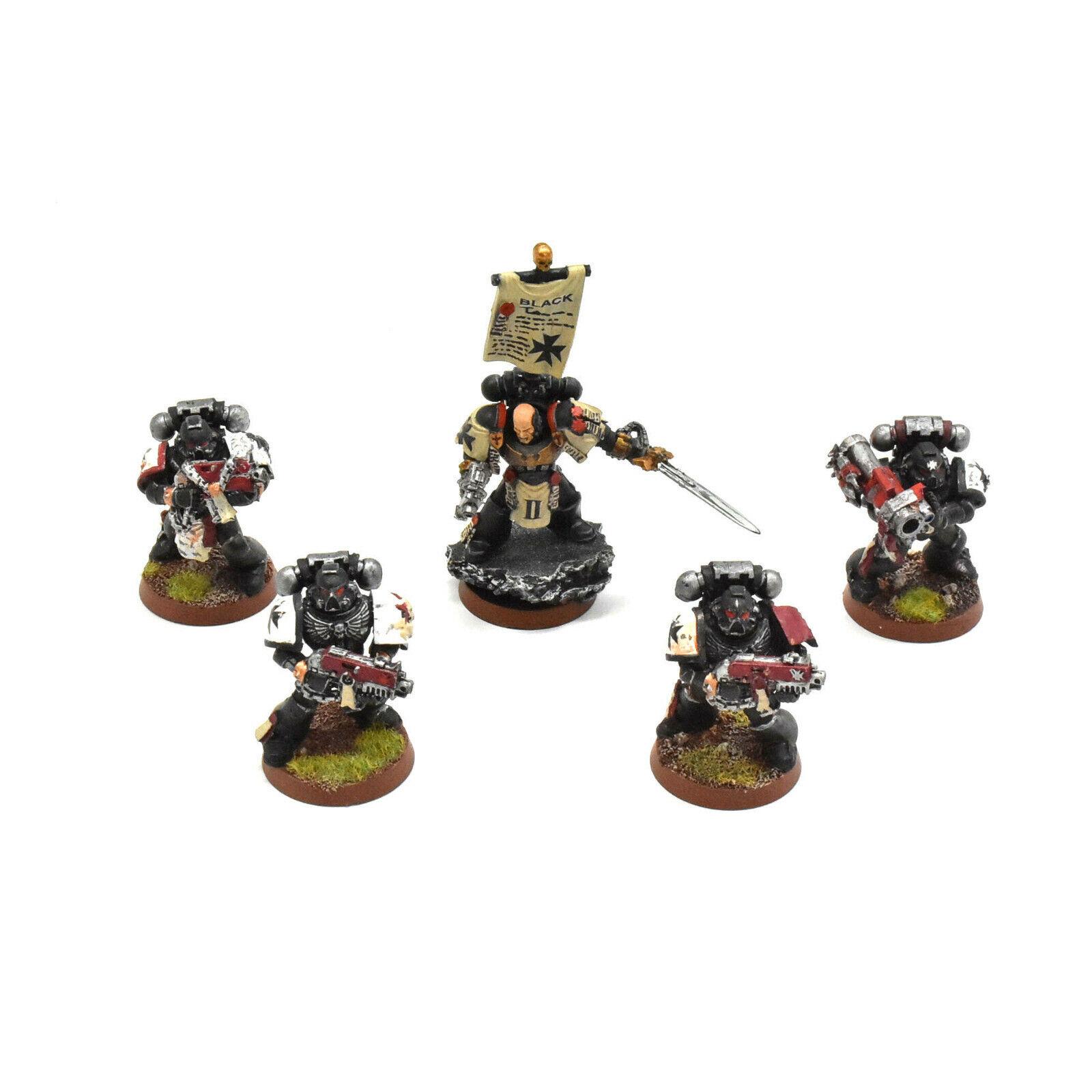 ¡envío gratis! Negro Templarios 5 Crusader Crusader Crusader escuadrón neófito inicia bien pintados  4 40K  marca en liquidación de venta
