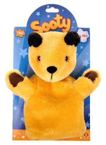 GOLDEN Bear-LO SPETTACOLO Fuligginoso a mano fantoccio uno in dotazione si sceglie età 12m+