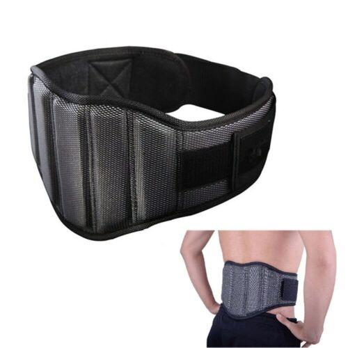 Cinturón Ajustable Nylon Para Levantamiento De Pesas Culturismo Soporte Espalda