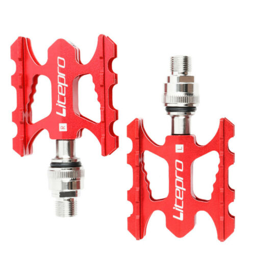 Litepro Ultralight Aluminum Quick Release Pedals For Brompton Foldable Bicycles