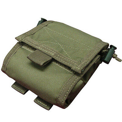 CONDOR ma36-001 MOLLE Modular Roll-Up Utility Nylon Pouch - OLIVE DRAB OD Green