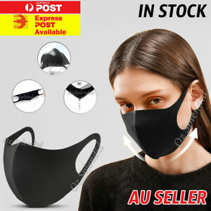 Washable Unisex Face Mask Mouth Masks Protective Reusable 24hr Dispatch Syd Ebay
