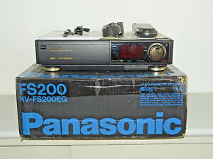 Panasonic NV-FS200 High-End S-VHS Videorecorder, OVP w.NEU, 2 Jahre -Garantie