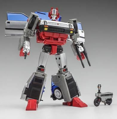 New Transformers X-TRANSBOTS MX-XVII-H MX-17H Heral Cross cut Figure In Stock