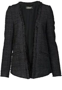 hallhuber jacken schwarz