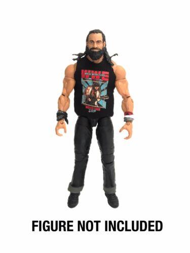WWE Elias 'camminare con Elias Mondo Tour 2018' Camicia personalizzato per Mattel figure.